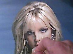Cum on Britney Spears