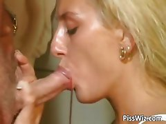 Hot busty blonde gets that craving part1