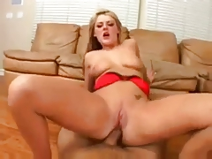 Sophie Dee gets fucked & swallow cum