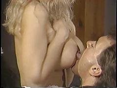 Victoria Paris fucking sucking cock and fucking big boobs