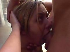 Teenie fingered & fucked