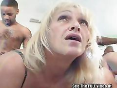 Big Black Dick In White MILF Orgy!