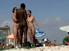 Incredible Homemade video with Voyeur, Beach scenes