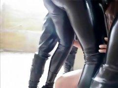 Incredible homemade Fetish, Outdoor sex clip