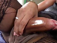 Tgirl Jennifer in sixty nine and anal