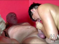 Horny housewives turn into dirty sluts at the swinger party