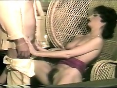Real dirty vintage whore is so into working and sucking strong cock