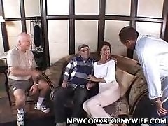 Horny Housewife Vanessa Teasing Her Husband