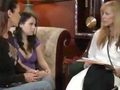 Hottest amateur Strapon, Lesbian porn clip