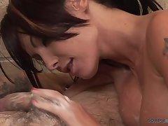 Chyna Bella sucks cock