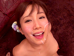 POV sex with the prettiest Japanese girl with gorgeous eyes