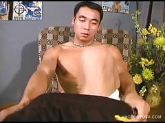 American Asian Boy Kai Jacking Off