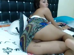Incredible Homemade clip with Asian, Masturbation scenes