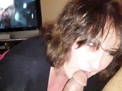 busty mom Peggy devours my cocks