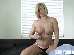 I want to see the big cock youve been hiding JOI