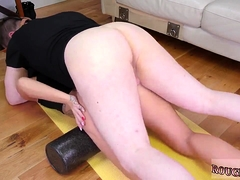 Brutal feet fuck Ass-Slave Yoga