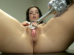 Machine fucking and sybian riding