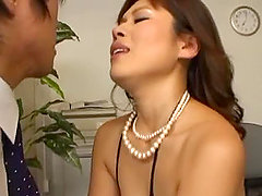 Horny MILF Earns A Creampie after what she does to his cock