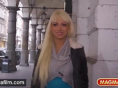 MAGMA FILM German Anal Beauty picked up for sex