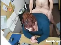 Chubby Fucked At The Office