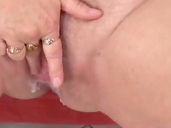Nasty hot ass mature amateur Sara G gets drilled doggystyle in a hot orgasm
