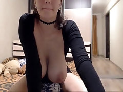 huge tits cam session