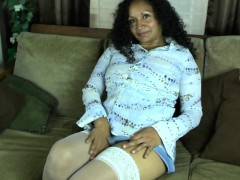 Mature latin mom with hairy pothol Ashanti from 1fuckdatecom