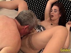 Mature Sable Renae Is Licked and Dicked