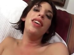 Incredible pornstar in hottest dildos/toys, creampie sex video
