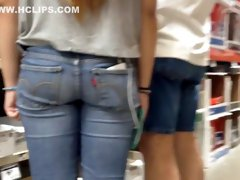 Genuine Teen Butt in the Home Depot