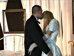 Bride gets fucked best man at hotel