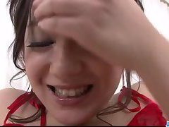 Rui Natsukawa gets toys to smash her fine twat
