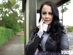 Alessa Savage In Cute British Chick Needs Cash