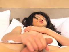 Sweet ladyboy masturbating until cumshot