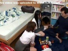 Crazy Japanese whore Rui Hazuki, Riona Minami in Amazing Big Tits, Teens JAV movie