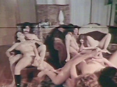 Hardcore orgy session with ladies who cannot say no to fat dicks