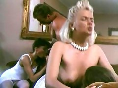 Beautiful and nasty white vintage ladies enjoy dirty orgy