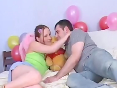Slutty Teen Fucks And Jerks A Guy Until Her Cums On Her Face