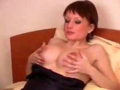 Crazy homemade Redhead, Big Natural Tits sex clip