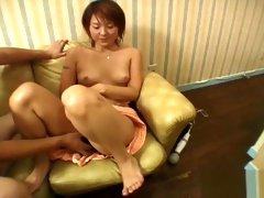 Exotic amateur Bathroom, JAV Uncensored adult clip