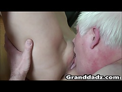 Granddadz.com young pussy licked