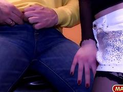 MAGMA FILM Public Fucking German Babe in restauran