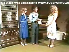 Vintage Two Girls On One Guy