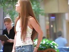 Emma Redhead Cutie Is Caught Shopping At A Mall We