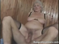 Big boobed blonde MILF slut part2