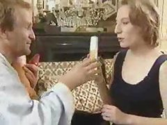 German Doctor using Huge Anal Dildo for his patient.F70
